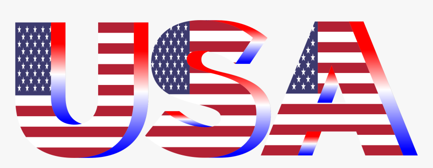 Transparent 4th Of July Png - Transparent Background Usa Flag Clipart, Png Download, Free Download