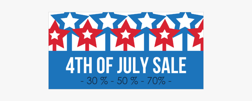 4th Of July Sale Banner, HD Png Download, Free Download