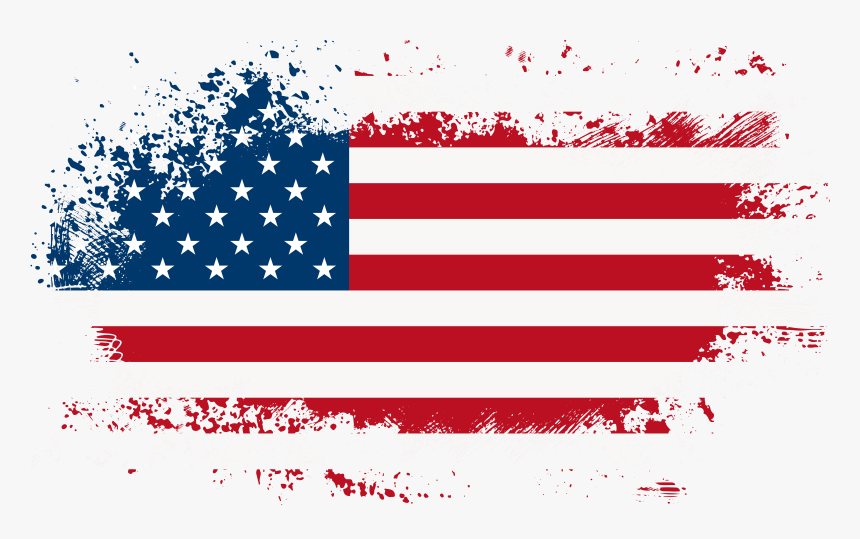 Transparent 4th Of July Png - Transparent Background American Flag Png, Png Download, Free Download