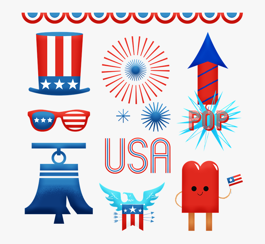 Independence Day, 4th Of July, Usa, Celebration - Independence Day, HD Png Download, Free Download