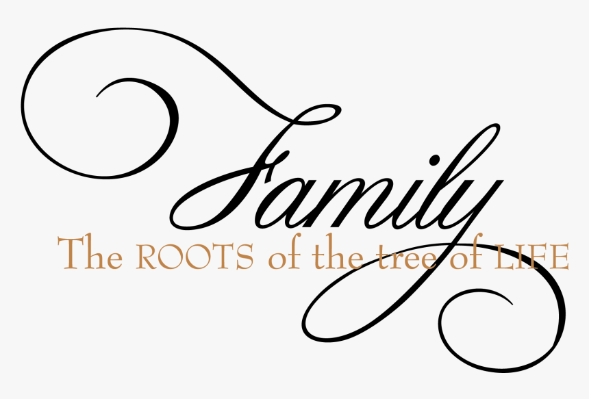 Family The Roots Of The Tree Of Life Wall Decal - Family Tree Of Life Quotes, HD Png Download, Free Download