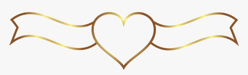 Gold Wedding Banner Background, HD Png Download, Free Download