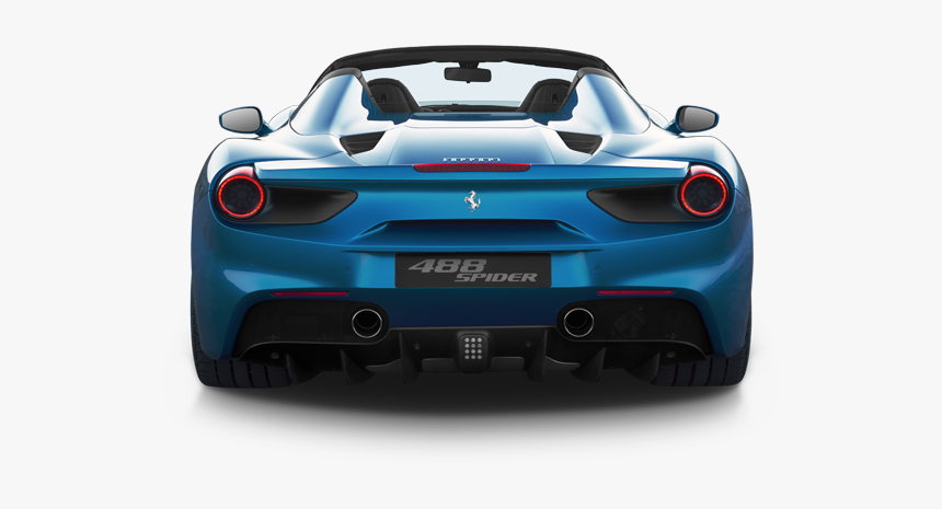Ferrari 488 Back View Hd Png Download Kindpng