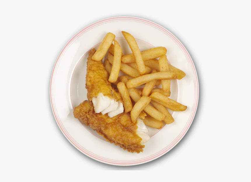 Fish And Chips Plate, HD Png Download, Free Download
