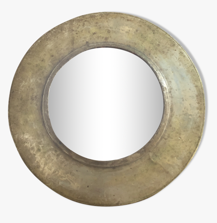 Golden Round Mirror 25cm Src Https Circle Hd Png Download Kindpng