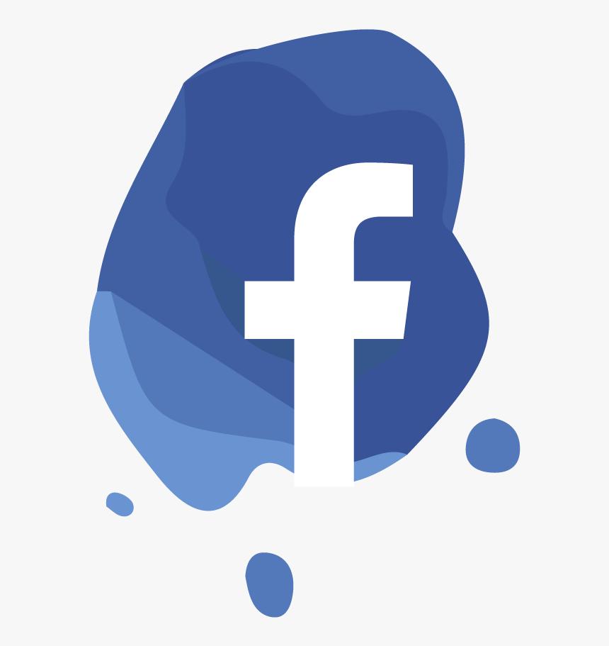 Social Network Logo Facebook - Splash Social Media Icons, HD Png Download, Free Download