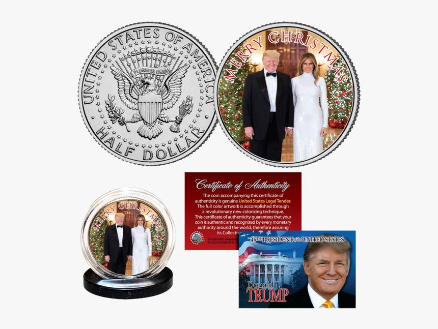 Donald Trump Half Dollar Coin, HD Png Download, Free Download