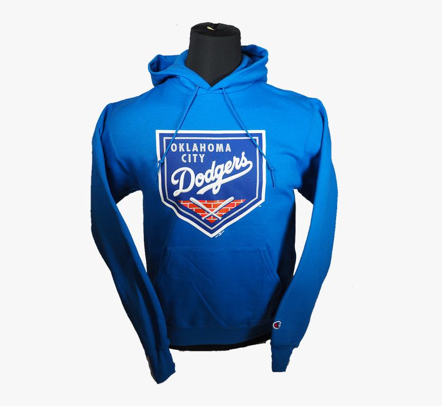 Primary Logo Hoodie - Los Angeles Dodgers, HD Png Download, Free Download