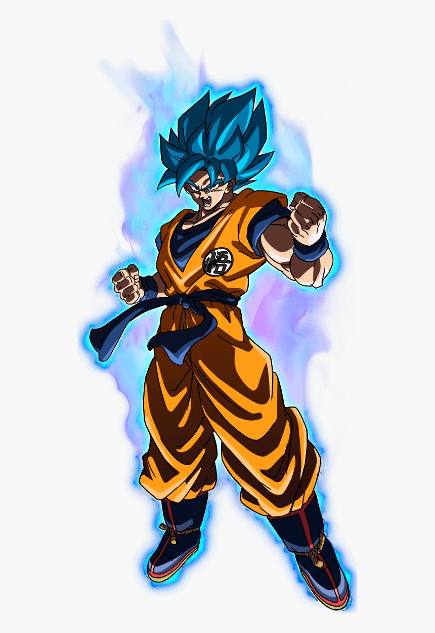 Dragon Ball Super , Png Download - Goku Ssj Blue Dragon Ball Super Broly, Transparent Png, Free Download
