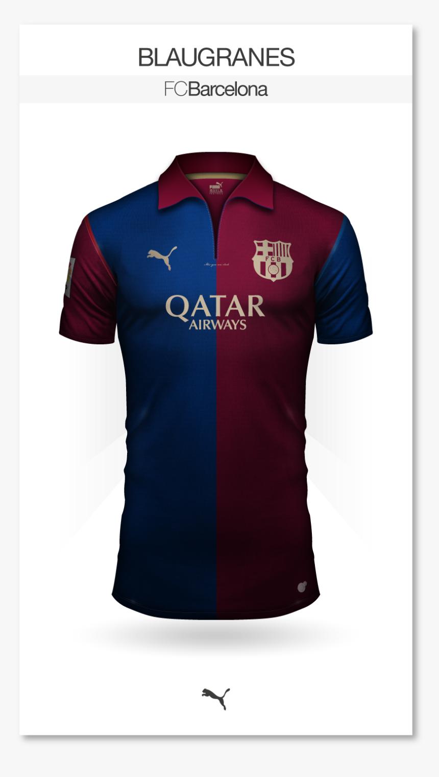 Fc Barcelona Jersey Puma, HD Png Download, Free Download