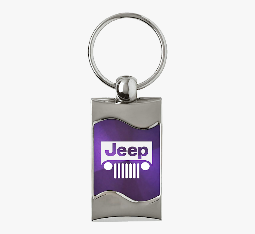 Au-tomotive Gold Jeep Grill Rectangular Wave Purple - Rx8 Keychain, HD Png Download, Free Download