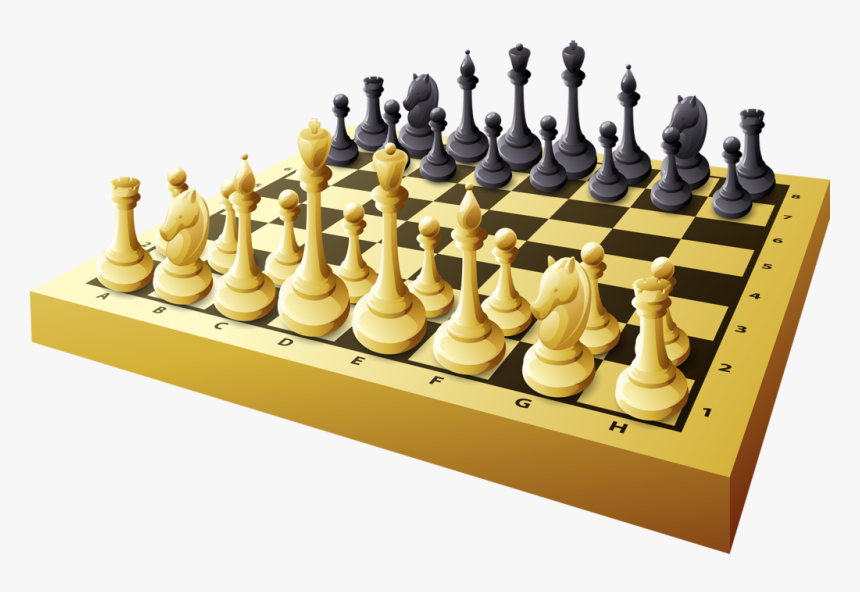 Games Clipart Board Game - Clipart Chess Board Game, HD Png Download, Free Download
