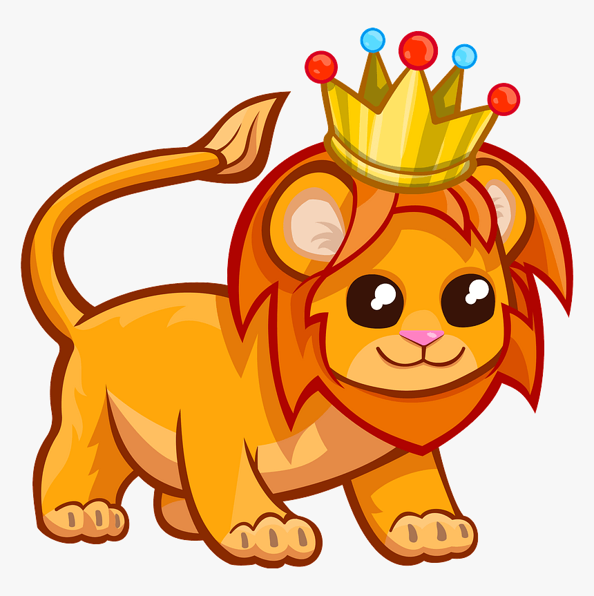 Lion With A Crown Clipart Cartoon Hd Png Download Kindpng 1300 x 1116 jpeg 158 кб. lion with a crown clipart cartoon hd