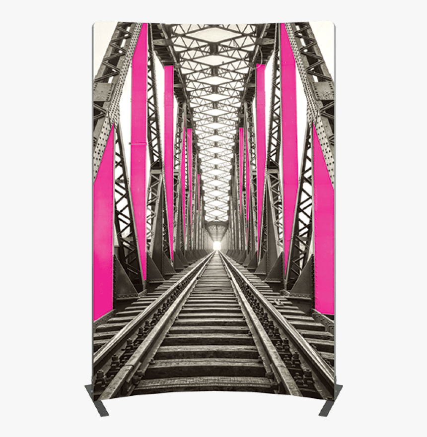 Vector Frame Curved 03 Fabric Banner Display - Portable Network Graphics, HD Png Download, Free Download