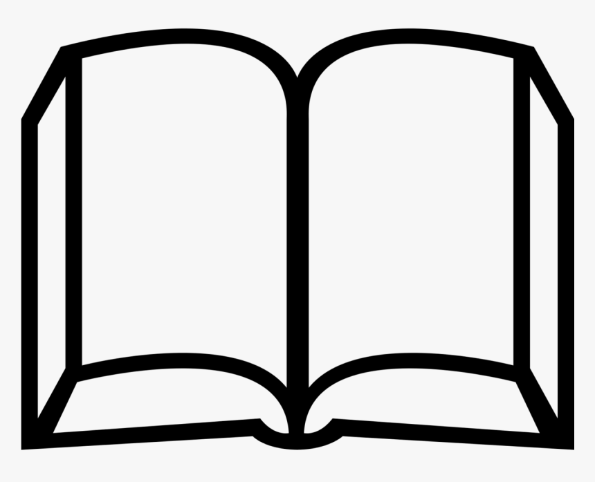 Book Icon - Open Book Books Decal, HD Png Download, Free Download