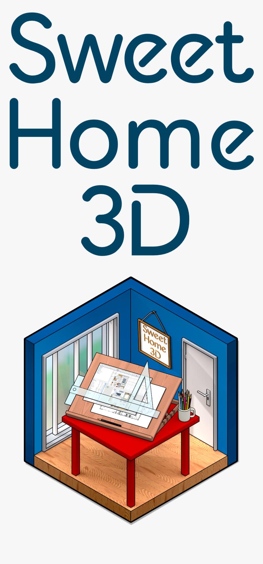 شراء Sweet Home 3d - Sweet Home 3d Icon, HD Png Download, Free Download