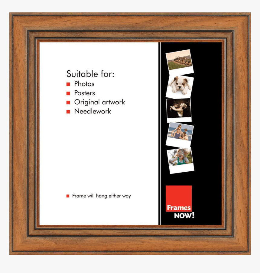 Frames Now Black Aluminium Frame, HD Png Download, Free Download