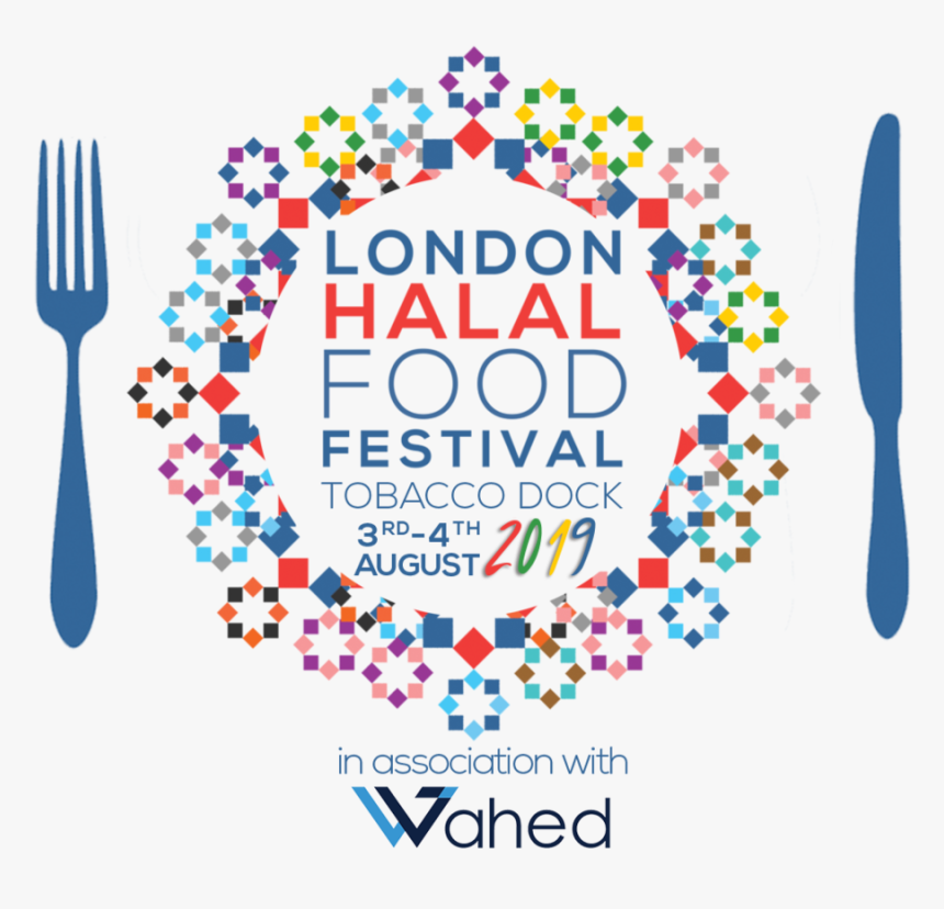 Lhff Logo 2019 Wahed Dates - Halal Food Festival London, HD Png Download, Free Download