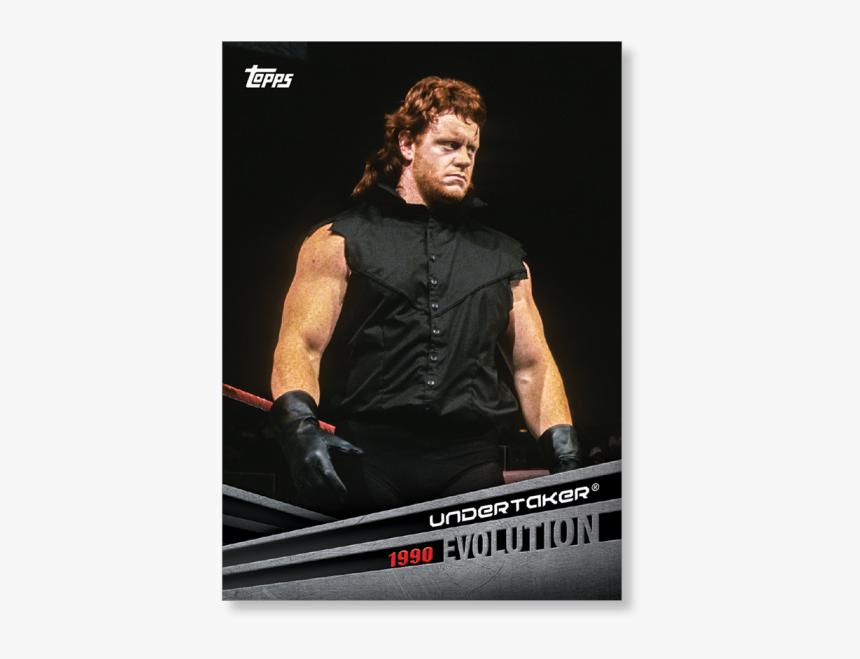 2018 Topps Wwe Undertaker Evolution Poster - Undertaker Elovetion, HD Png Download, Free Download