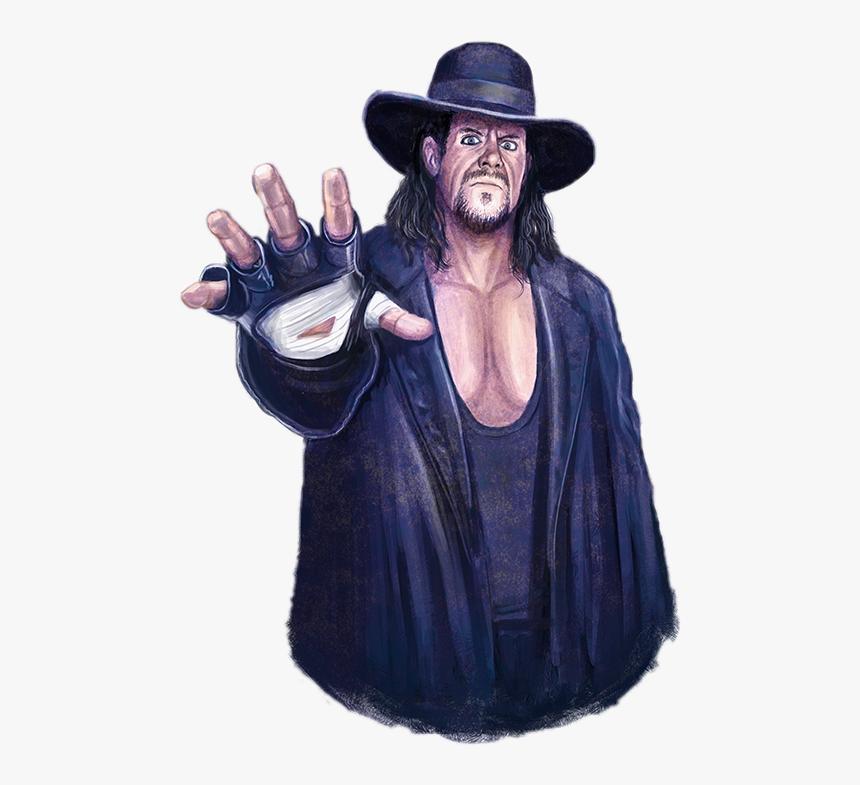 Undertaker Wwe Fan Art, HD Png Download, Free Download
