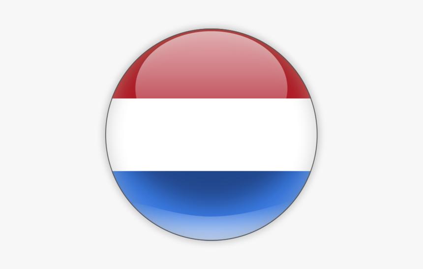 Netherlands Flag Png - Netherlands Round Flag, Transparent Png, Free Download