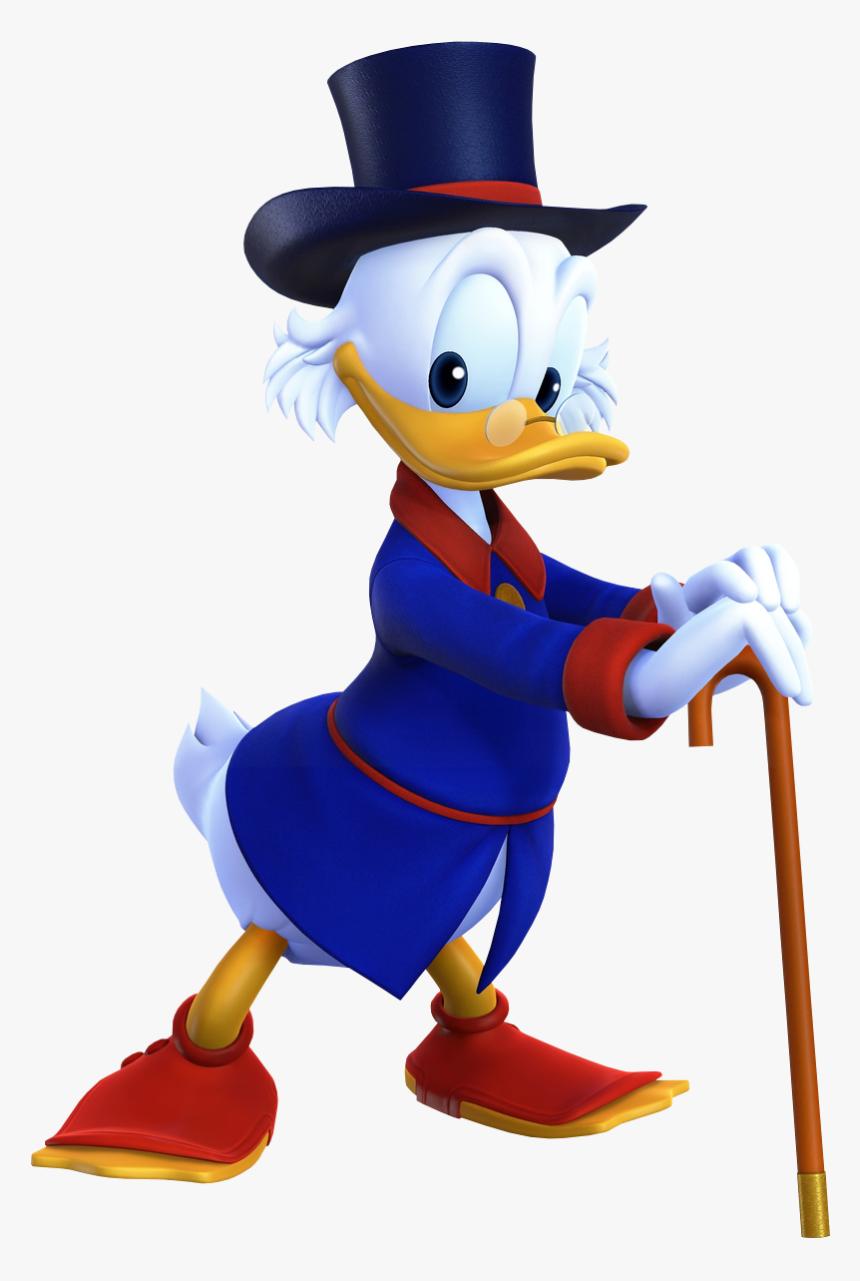 Scrooge Mcduck Khiii - Kingdom Hearts 3 Uncle Scrooge, HD Png Download, Free Download