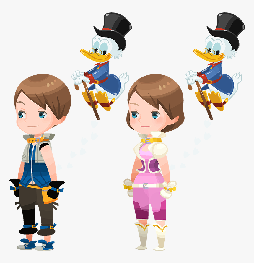 Balloon Scrooge - Kingdom Hearts Union X Avatar Outfits, HD Png Download, Free Download