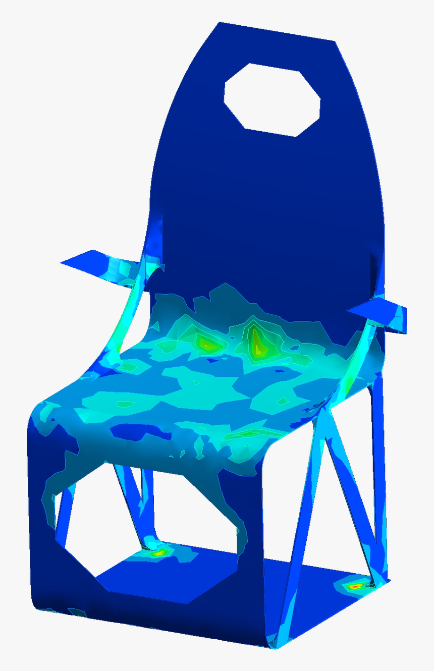 Nr Carbon Fiber Furniture Stress Tested Dining Room - Chair, HD Png Download, Free Download