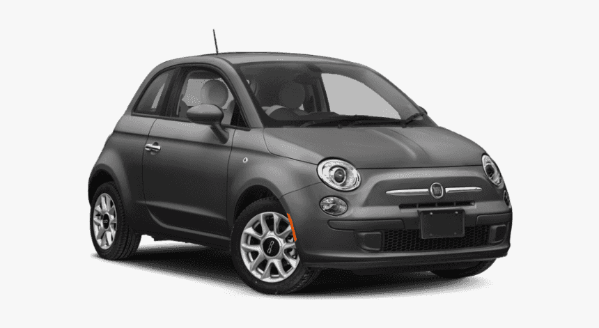 New 2019 Fiat 500 Pop - 2019 Fiat 500 Black, HD Png Download, Free Download