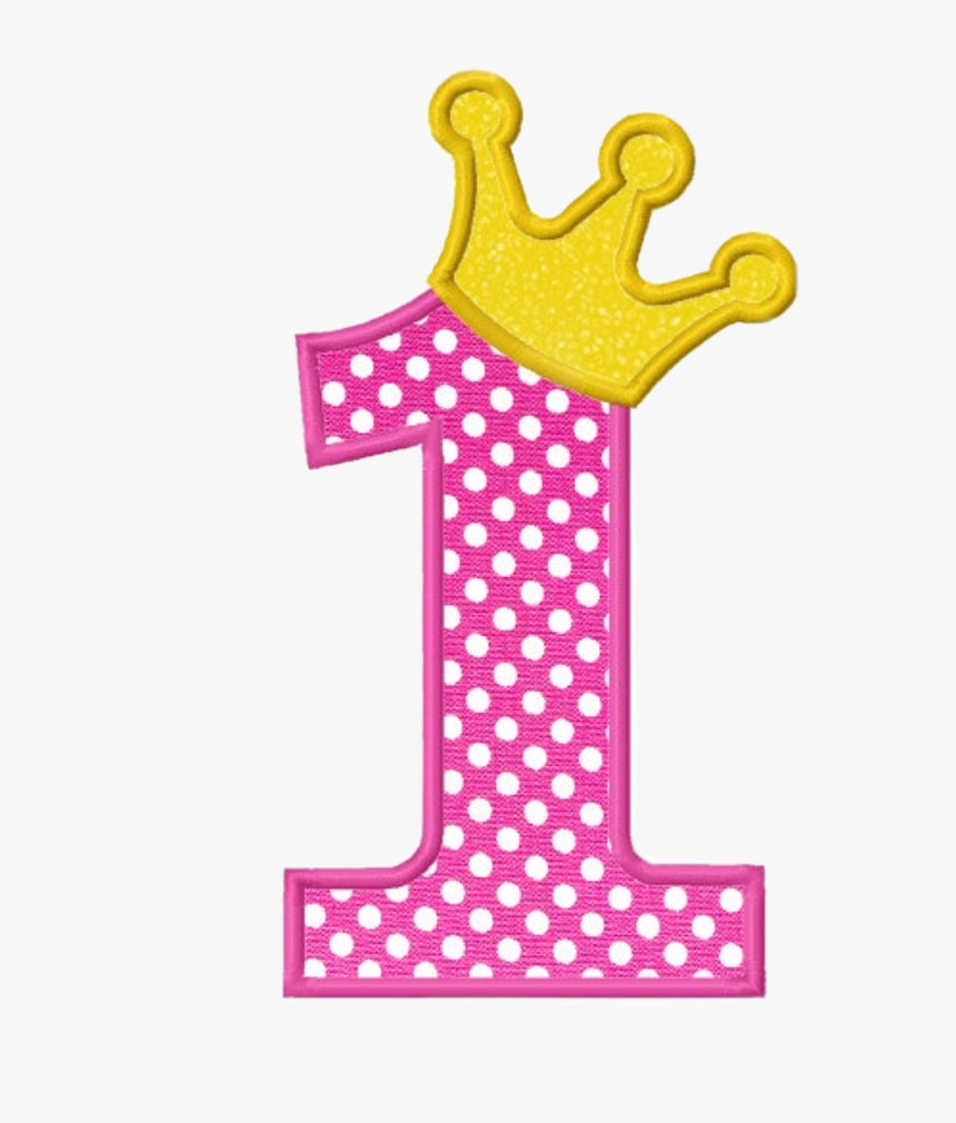 Number 1 With Design, HD Png Download, Free Download