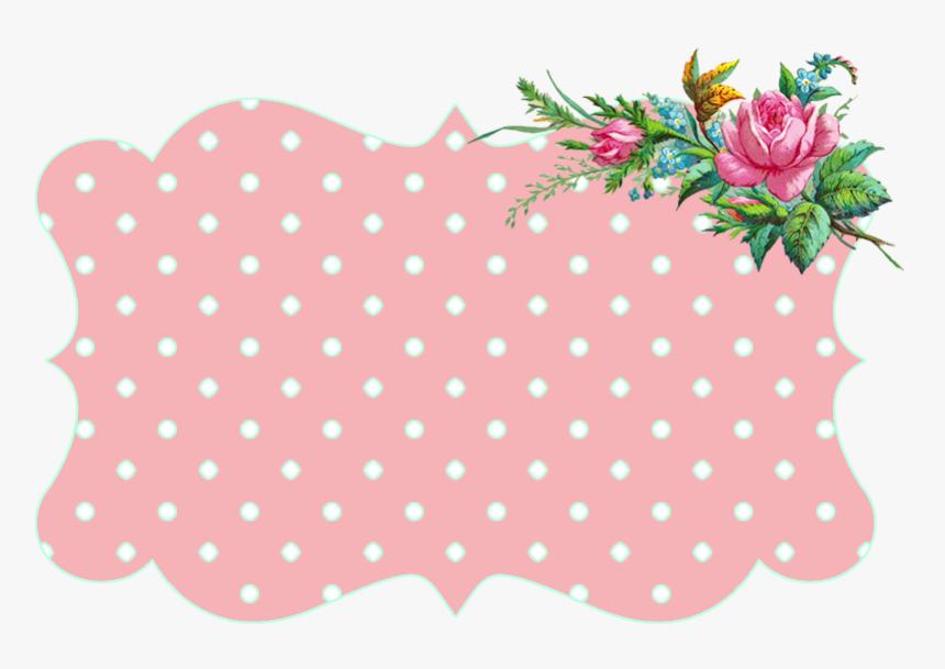 Best Clipart Vintage Frame Png - Vintage Flower Border, Transparent Png, Free Download
