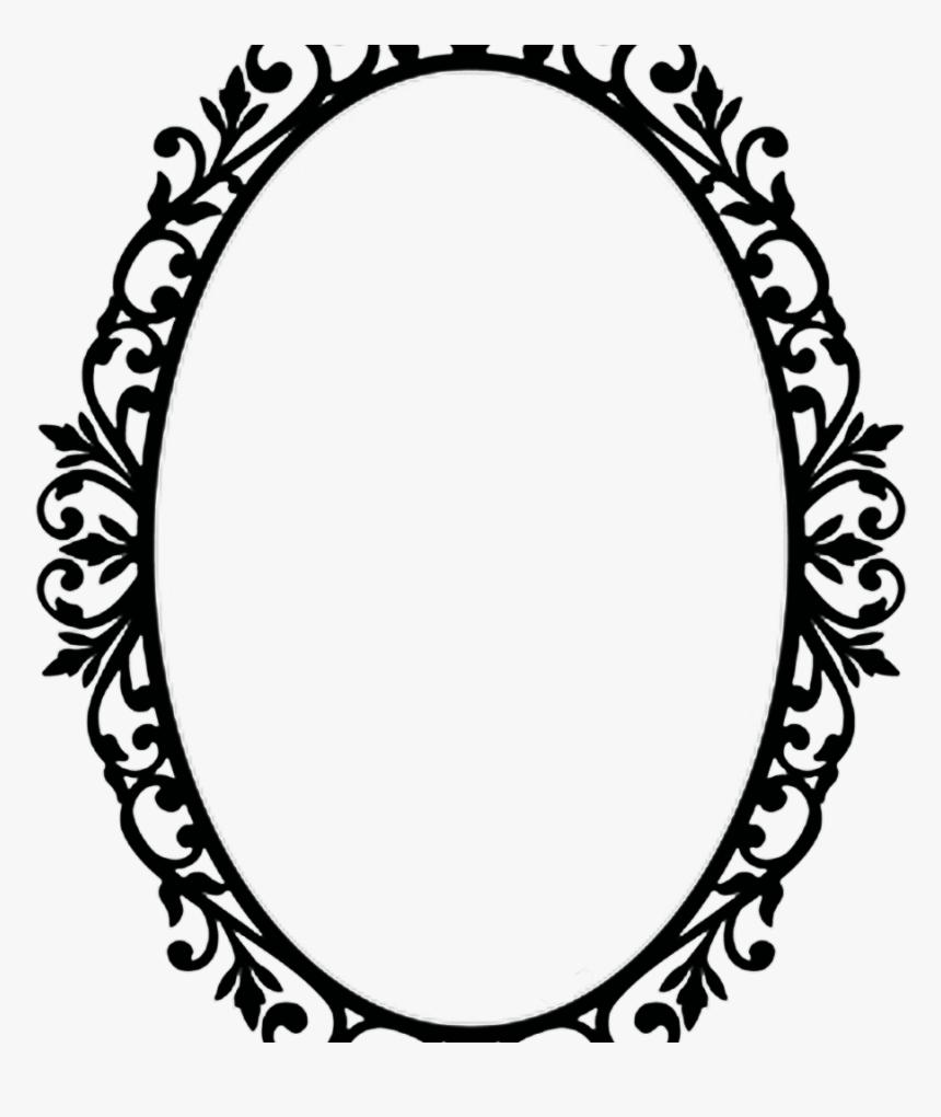 Vintage Transparent Oval Frame Ornate Oval Frame Png Png Download Kindpng