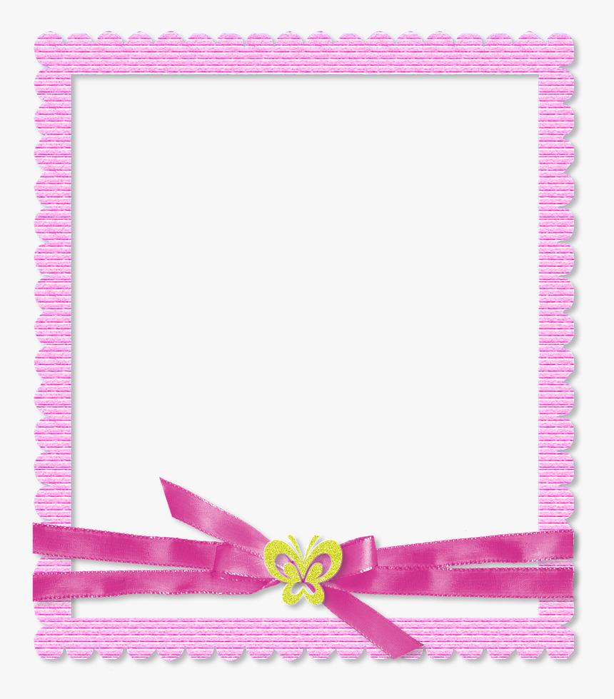 Photo Frame, Scrapbook, Pink, Color - Png Format Scrapbook Frame, Transparent Png, Free Download