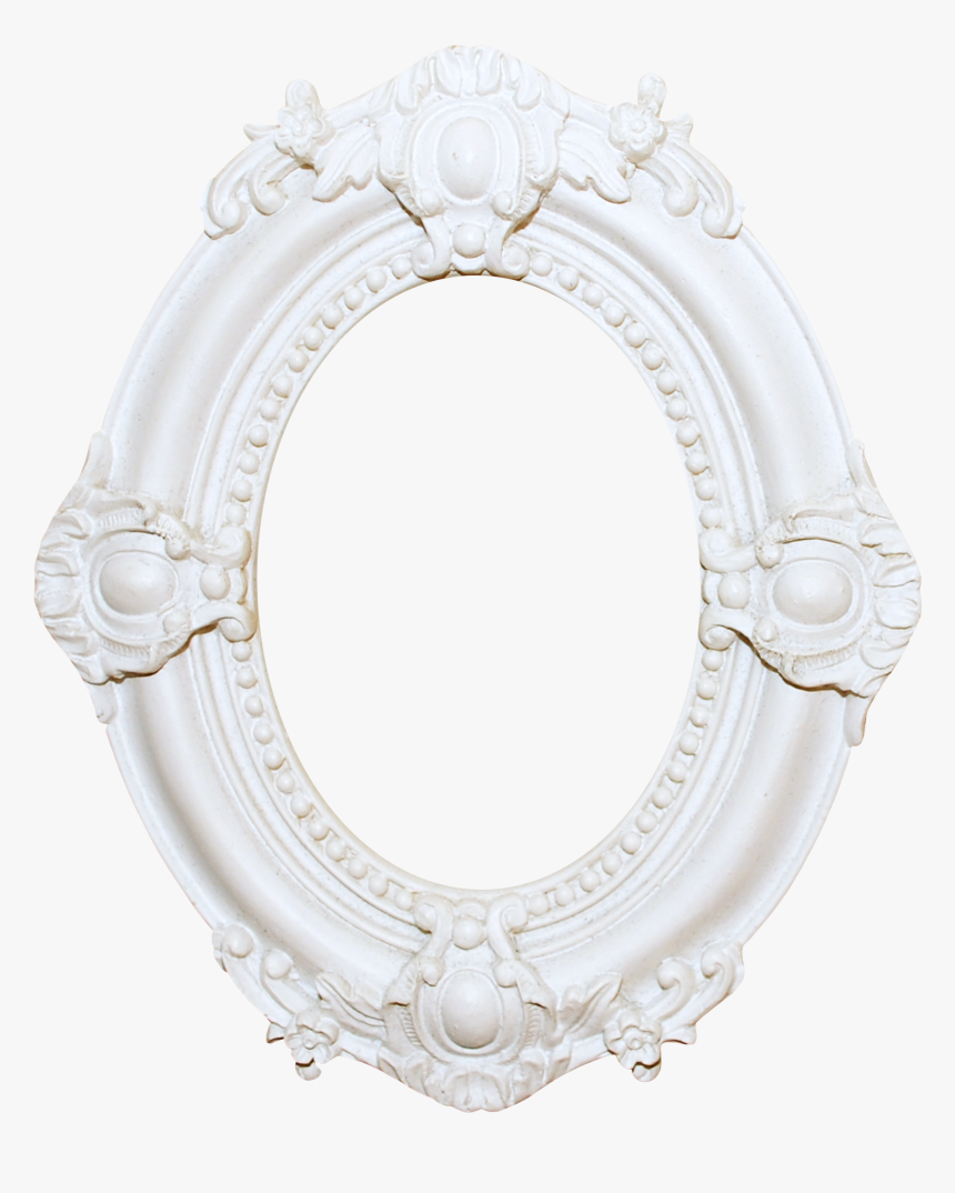Oval Beautiful White Frame Free Download Png Hq Clipart - Circle, Transparent Png, Free Download