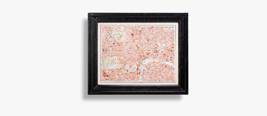 Classic Maps London Timothy Oulton, HD Png Download, Free Download