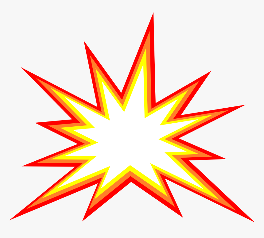 Starburst Transparent Explosion Clipart, HD Png Download, Free Download