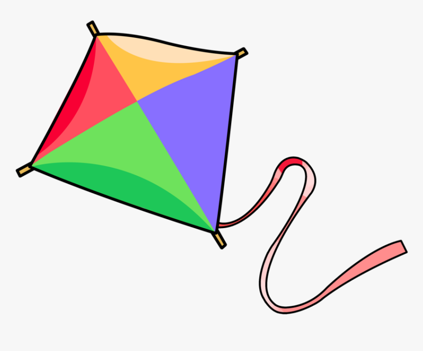 Diamond Clipart Kite - Kite Clipart, HD Png Download, Free Download