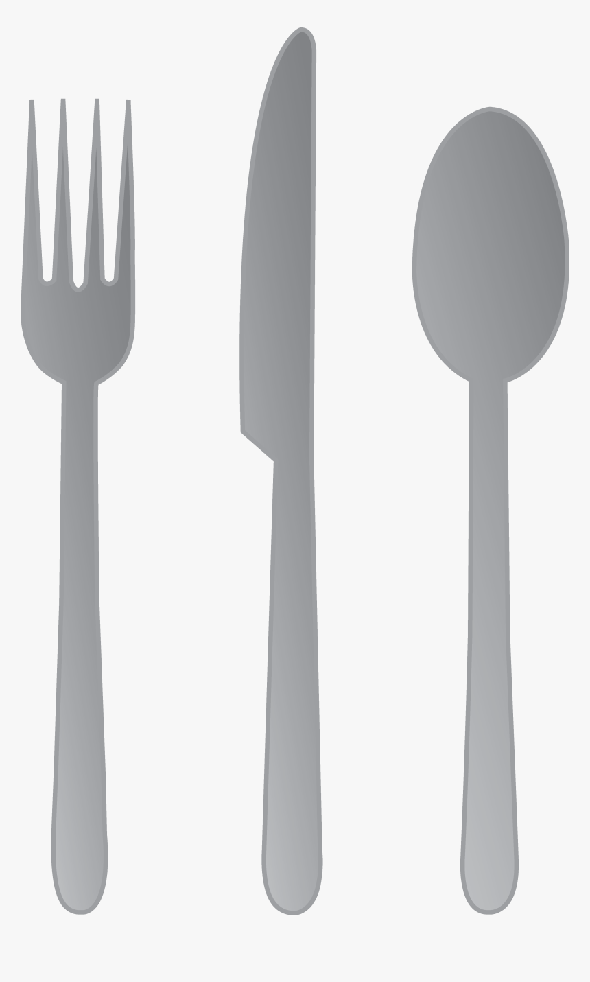 Forks And Spoons Png Fabulous Knives Forks - Fork Knife And Spoon Clipart, Transparent Png, Free Download