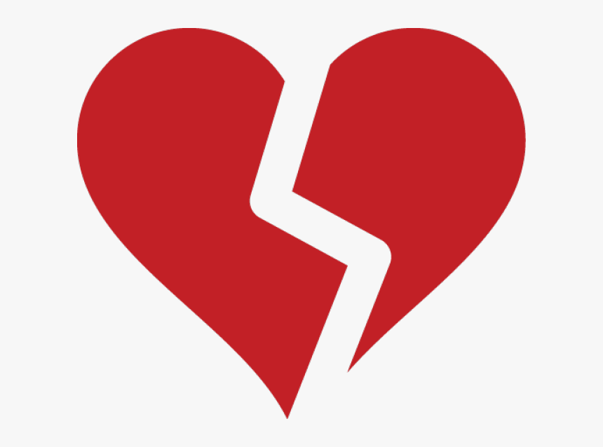 Broken Heart Clipart Open Heart - Broken Heart Icon Transparent, HD Png Download, Free Download