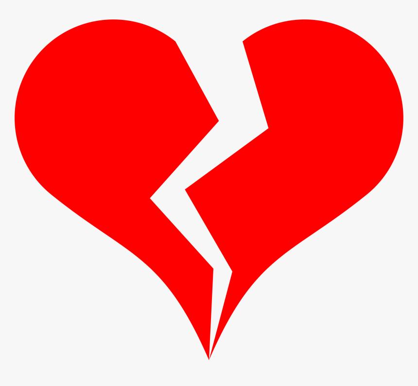 Free Broken Heart Drawing, HD Png Download, Free Download