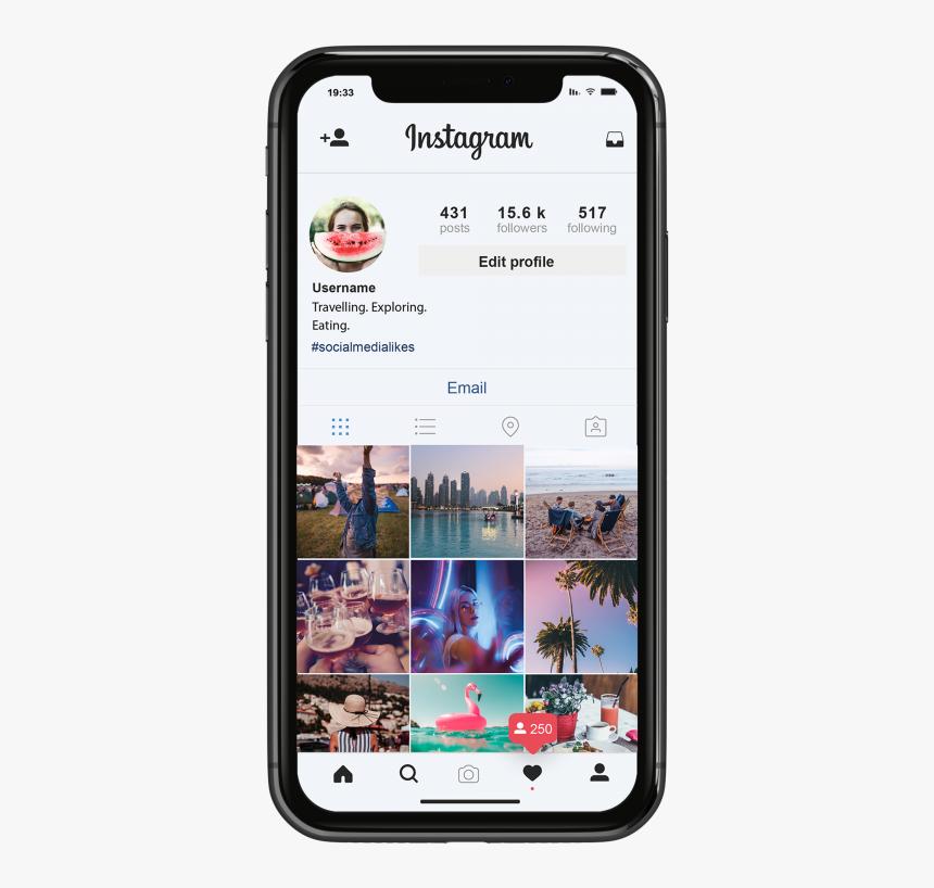 Buy Instagram Followers Uk - 25000 Followers Profile In Instagram, HD Png Download, Free Download