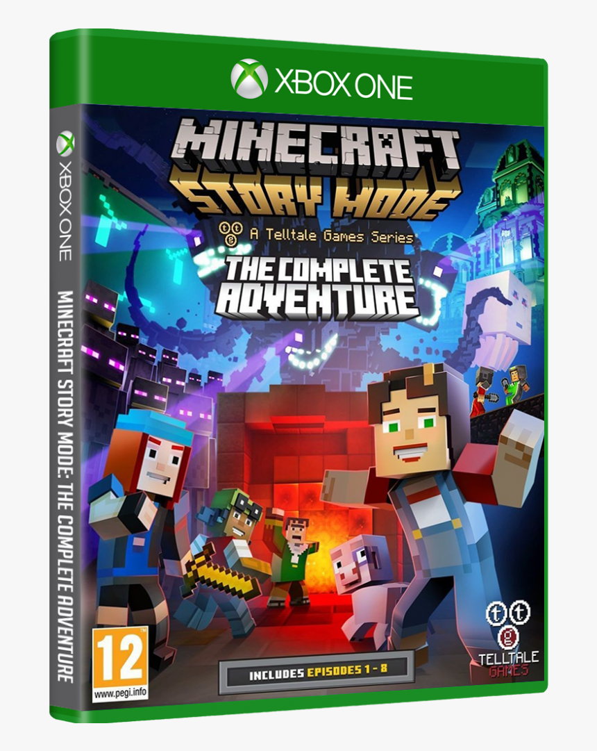 Minecraft Story Mode Ps4 The Complete Adventure, HD Png Download, Free Download
