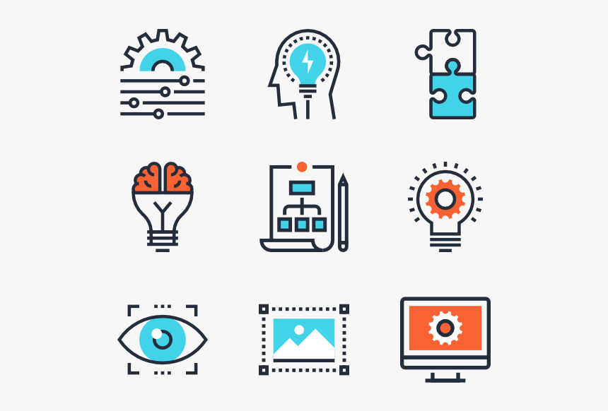 Design Process Icon Png, Transparent Png, Free Download