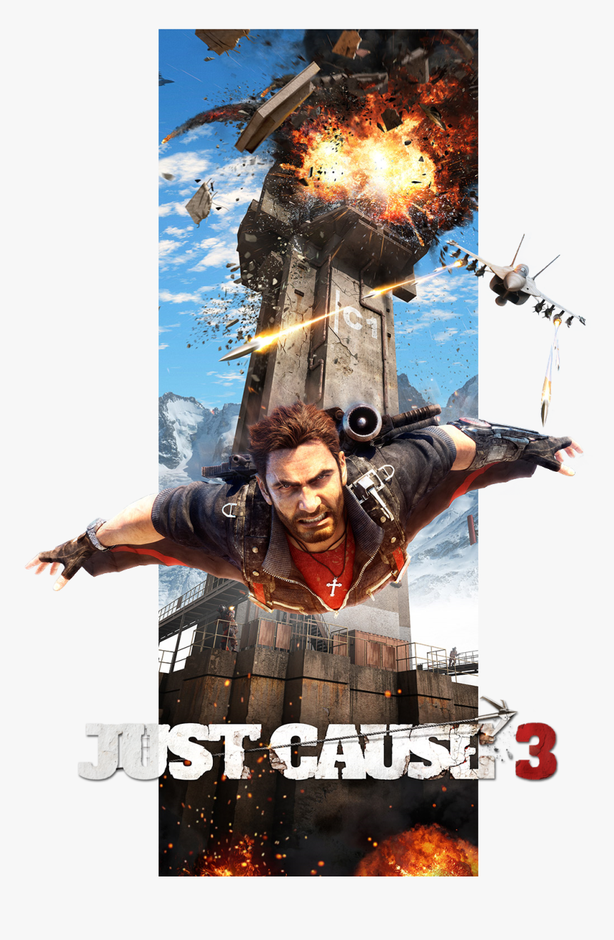 Just Cause 3 By Kindrat13 - Just Cause 3 Poster, HD Png Download, Free Download