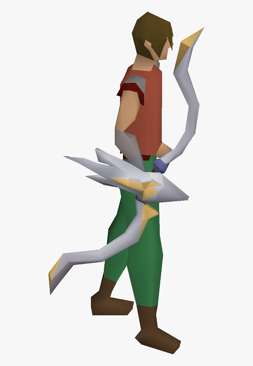 Old School Runescape Wiki - Craw's Bow, HD Png Download, Free Download