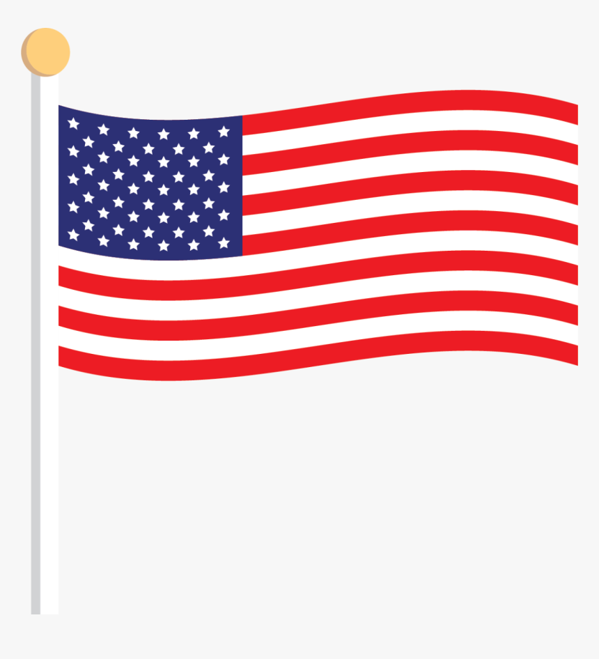 Transparent Usa Flag Clip Art Cartoon American Flag Png Png Download Kindpng