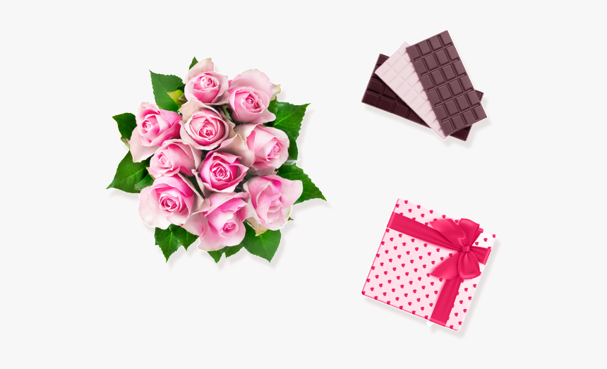 Bouquet Vector Chocolate - Flores Para Mi Hermana, HD Png Download, Free Download