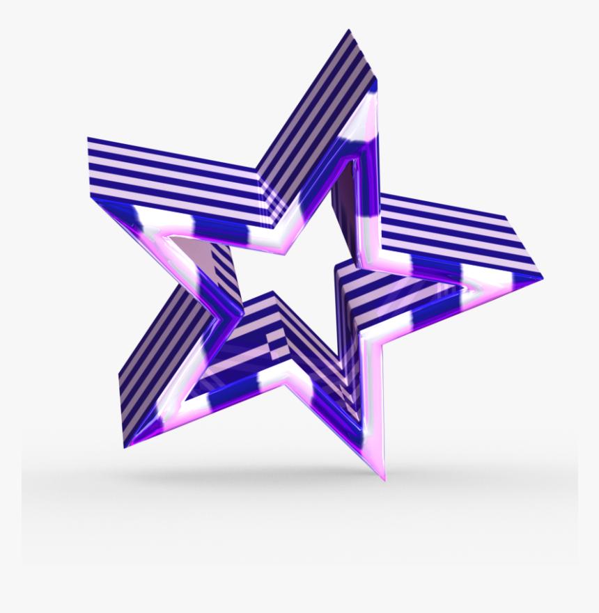 3d Greek Star - 3d Computer Graphics, HD Png Download, Free Download