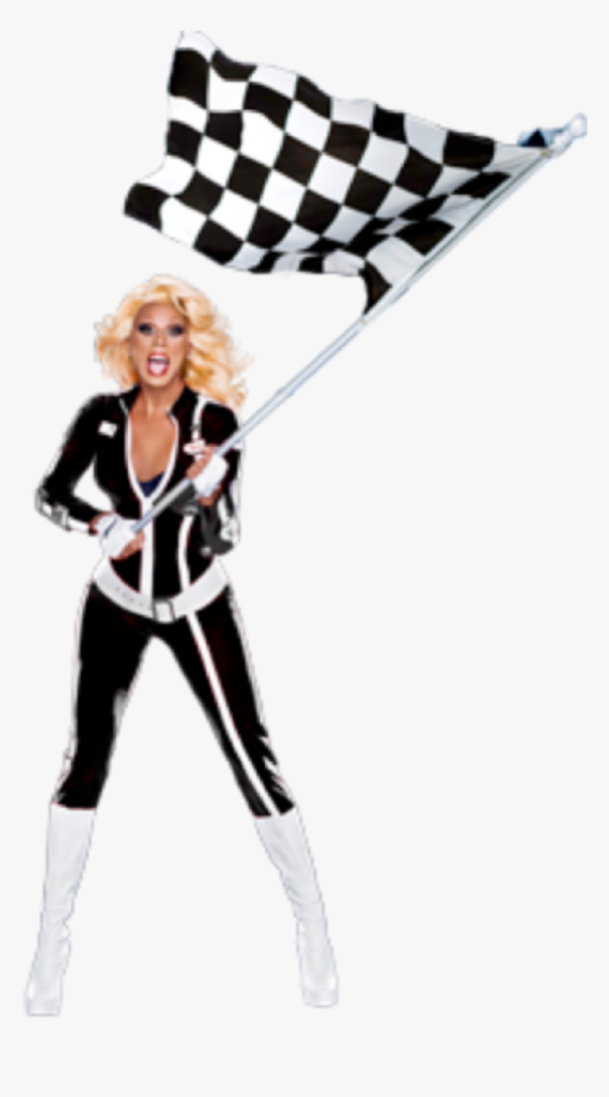 Rupaul Drawing Sticker Rupaul Drag Race Flag Hd Png Download Kindpng