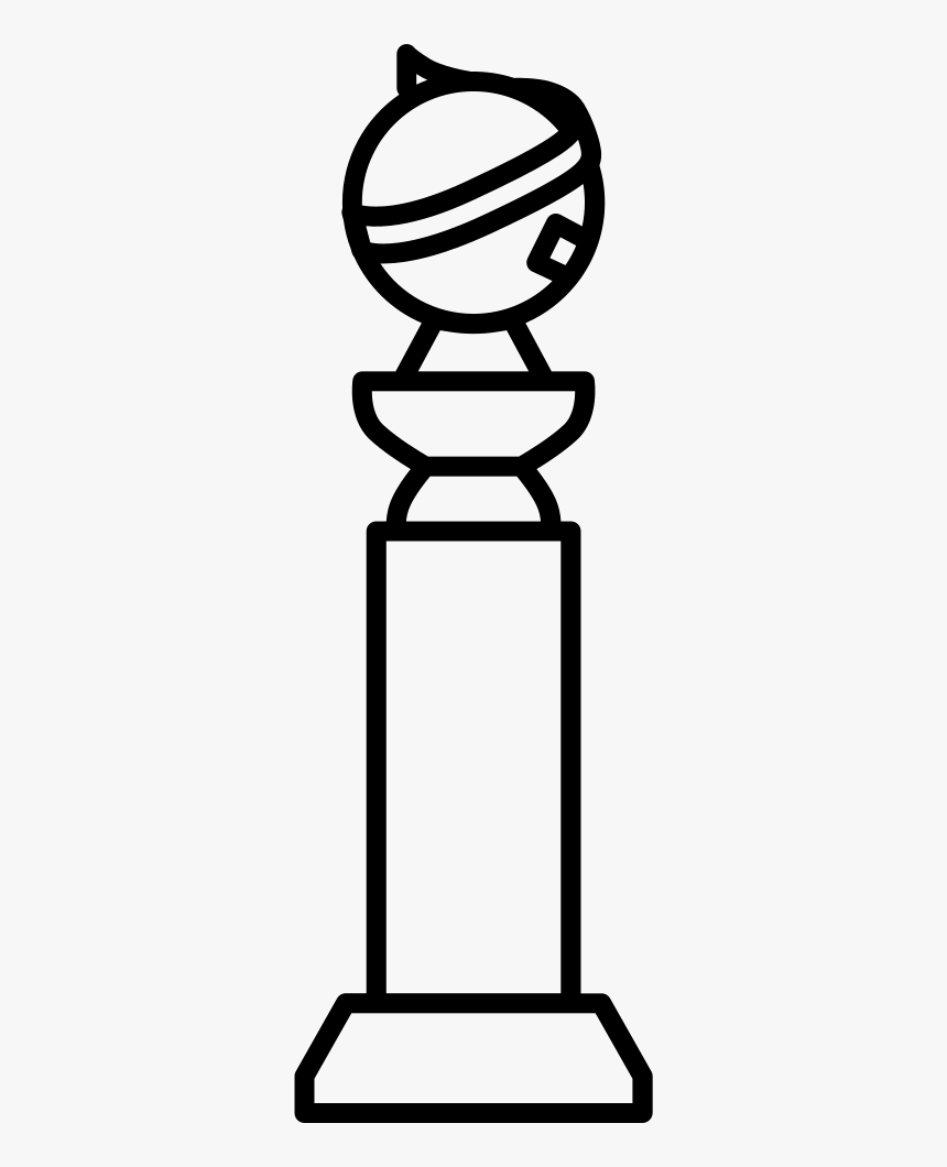 Golden Globe Award - Golden Globe Award Clipart, HD Png Download, Free Download